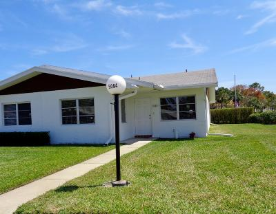 West Palm Beach Single Family Home For Sale: 5084 Alfred Drive
