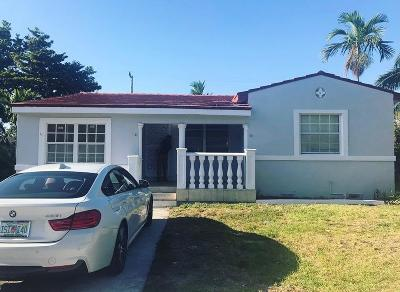 Miami Single Family Home Contingent: 3101 NW 48 Terrace
