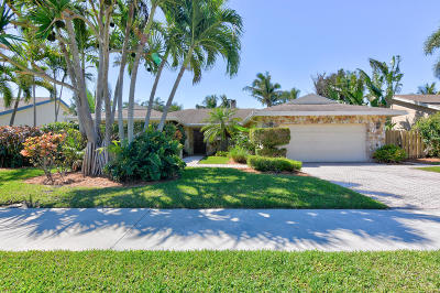 Boca Raton Single Family Home For Sale: 4826 Sugar Pine Drive