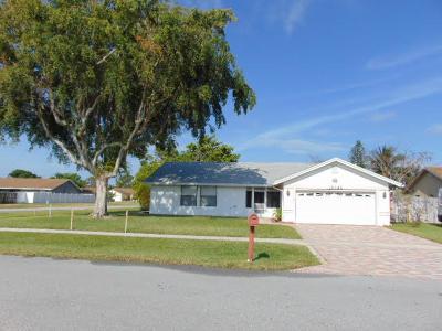 Boca Raton Single Family Home For Sale: 19545 Carolina Circle