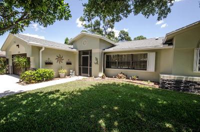 Royal Palm Beach Single Family Home For Sale: 110 Lexington Drive