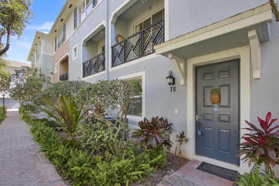 Delray Beach Condo For Sale: 75 Atlantic Grove Way