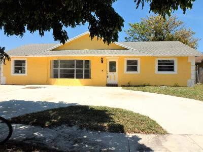 West Palm Beach Single Family Home For Sale: 236 Wrena Drive