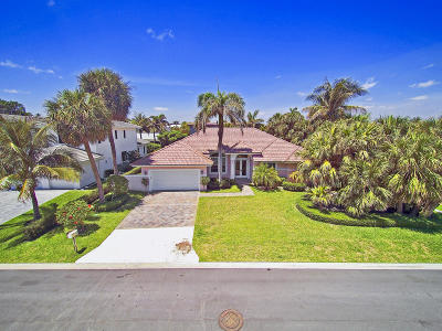 Jupiter Inlet Colony Single Family Home For Sale: 189 Shelter Lane