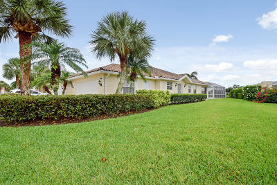 Hobe Sound Single Family Home For Sale: 7842 SE Spicewood Circle