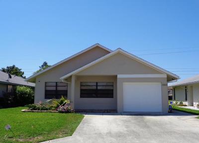 West Palm Beach Single Family Home For Sale: 5270 Kim Court
