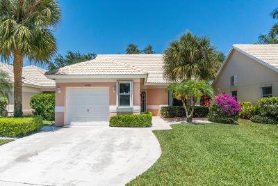 Boynton Beach Single Family Home For Sale: 12790 Hampton Lakes Circle