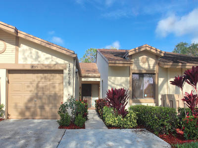 Boca Raton Single Family Home For Sale: 18579 Breezy Palm Way