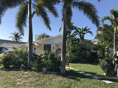 Jupiter Single Family Home For Sale: 215 2nd Street