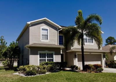 Port Saint Lucie Single Family Home For Sale: 597 SW Hamburg Terrace