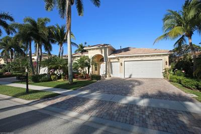 Palm Beach Gardens FL Single Family Home For Sale: $896,000