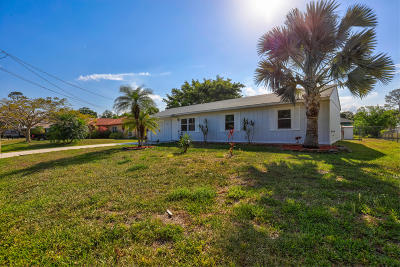 Port Saint Lucie Single Family Home For Sale: 2326 SW Scodella Terrace