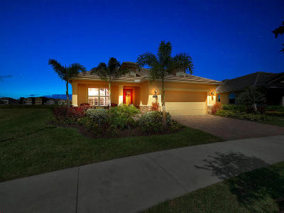 Port Saint Lucie Single Family Home For Sale: 11494 SW Halton Street