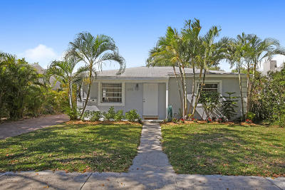West Palm Beach Single Family Home For Sale: 1015 Upland Road