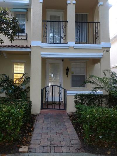 Jupiter FL Townhouse For Sale: $375,000