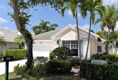 Palm Beach Gardens Single Family Home For Sale: 618 Masters Way