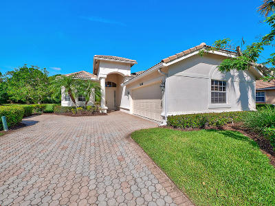 Port Saint Lucie Single Family Home For Sale: 7684 Greenbrier Circle