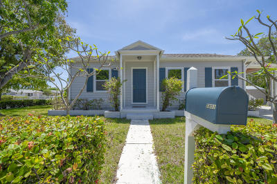 West Palm Beach Single Family Home For Sale: 5801 Garden Avenue