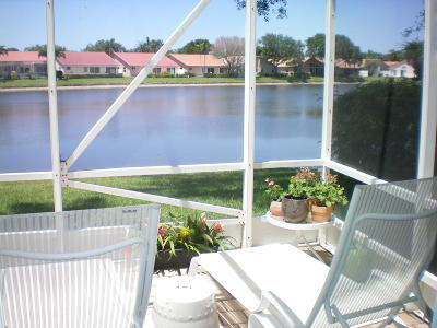Boynton Beach Single Family Home For Sale: 9621 Harbour Lake Circle