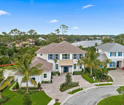 Tequesta FL Single Family Home For Sale: $3,000,000
