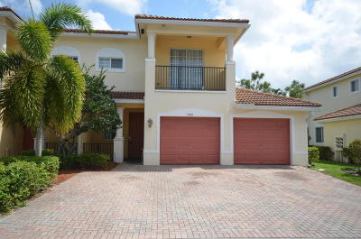 Lake Worth Townhouse For Sale: 6278 S Military Trail #506
