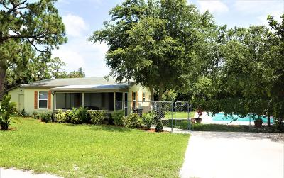 West Palm Beach Single Family Home For Sale: 4088 Roemer Road