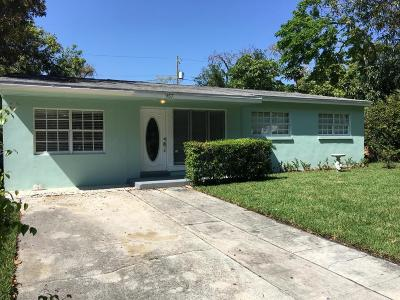 West Palm Beach Single Family Home For Sale: 957 31st Street