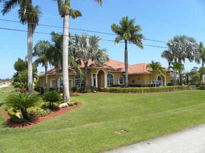 Port Saint Lucie Single Family Home For Sale: 3401 SW Hill Court