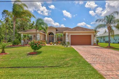 Port Saint Lucie Single Family Home For Sale: 4845 NW Macedo Boulevard
