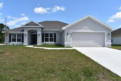 Port Saint Lucie Single Family Home For Sale: 6841 NW Jorgensen Road