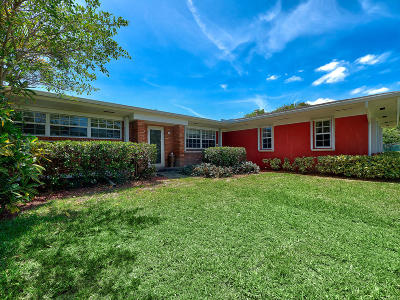 Boynton Beach Single Family Home Contingent: 1804 Tom A Toe Road