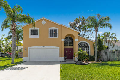 Royal Palm Beach Single Family Home For Sale: 135 Meadowlands Drive