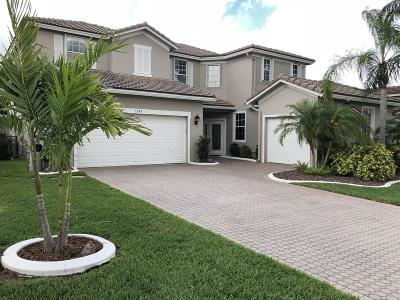 West Palm Beach Single Family Home For Sale: 1349 Stonehaven Estates Dr