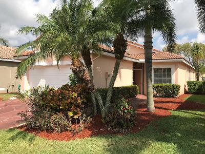Boynton Beach Single Family Home Contingent: 9707 Cherry Blossom Court