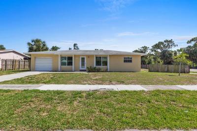 Boca Raton FL Single Family Home For Sale: $390,000