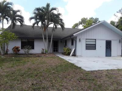 Royal Palm Beach Single Family Home For Sale: 4811 122nd Drive