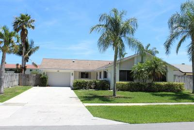 Boynton Beach Single Family Home For Sale: 49 Vista Del Rio