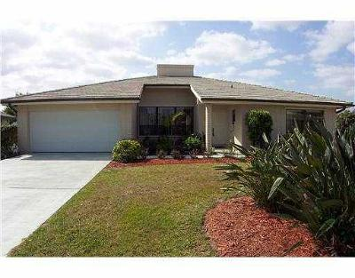 Martin County Single Family Home For Sale: 2478 SW Heronwood Road