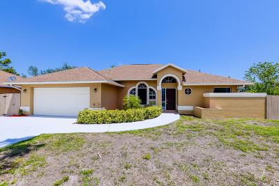 Port Saint Lucie, Saint Lucie West Single Family Home For Sale: 2141 SW Bayshore Boulevard