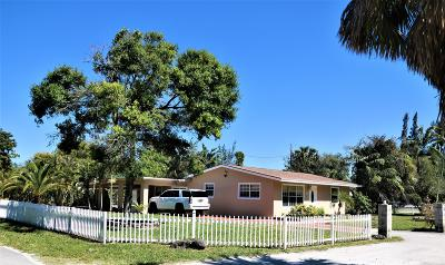 West Palm Beach Single Family Home Contingent: 2929 Wayne Road