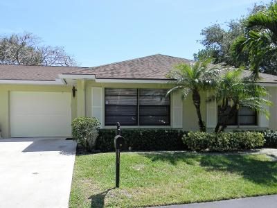 Boynton Beach Single Family Home For Sale: 9800 Pecan Tree Drive #B