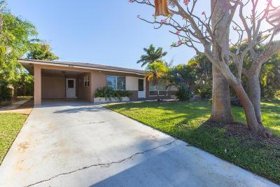 Lake Worth Single Family Home For Sale: 205 18th Avenue S