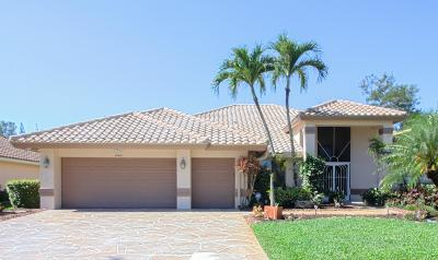 Boca Raton Single Family Home For Sale: 10416 Milburn Lane
