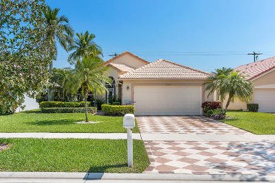 Delray Beach Single Family Home Contingent: 7838 Stirling Bridge Boulevard S