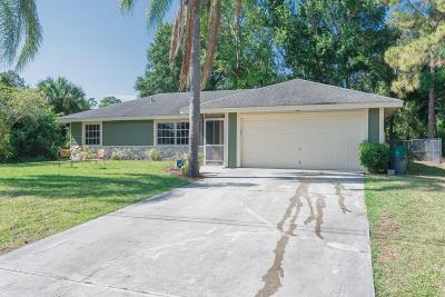 Port Saint Lucie Single Family Home For Sale: 1887 SW Bellevue Avenue