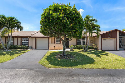 Delray Beach Single Family Home For Sale: 5420 Viburnum Street
