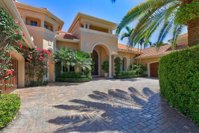 Palm Beach Gardens FL Single Family Home For Sale: $3,150,000