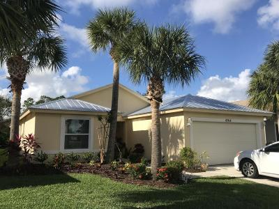 Stuart Single Family Home For Sale: 8914 SW Bonneville Drive