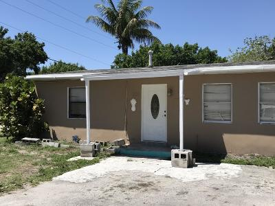 Fort Pierce Single Family Home For Sale: 301 23rd Street
