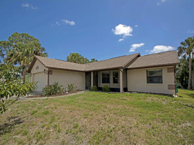 Indian River County Single Family Home For Sale